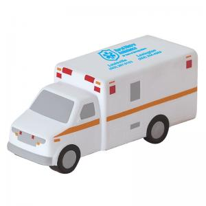 Ambulance Shaped Stress Reliever