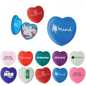 Heart Shaped Pill Box