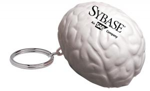 Brain Stress Reliever Keychain