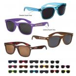 Neon-Brite Plastic Blues Brothers Sunglasses