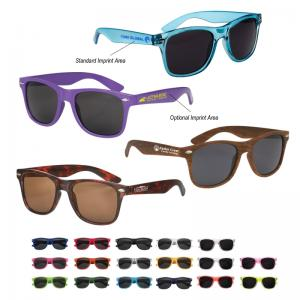 Neon-Brite Plastic Blues Brothers Sunglasses