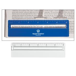 Two-In-One Magnifying Ruler