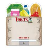 Grocery Bag Shopping Bag Dry Erase Board