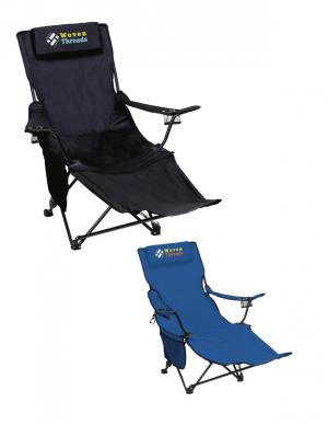 Captain's Recliner Folding Chair