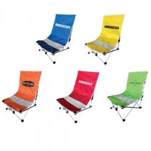 Beach Chair With Headrest Pillow