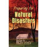 Preparing For Natural Disasters Pamphlet