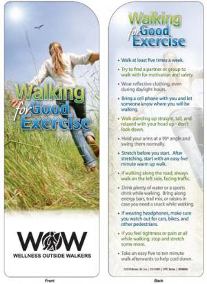 Walking For Good Exercise Bookmark