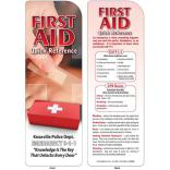 First Aid Quick Reference Bookmark
