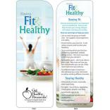 Staying Fit & Healthy Bookmark