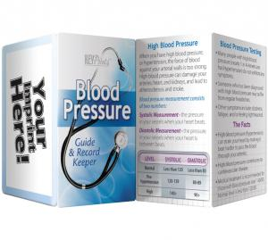 Blood Pressure Guide And Record Keeper Pamphlet