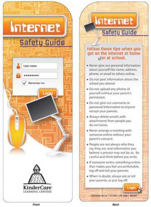 Internet Safety Bookmark
