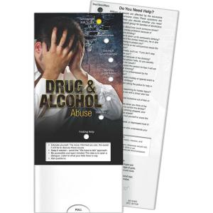 Drug And Alcoholism Abuse Pocket Slide Chart