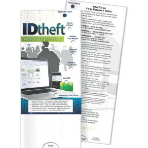Identity Theft- Protecting And Preventing Pocket Slide Chart