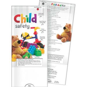 Child Safety Pocket Slide Chart