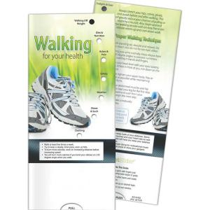 Walking For Your Health Pocket Slide Chart