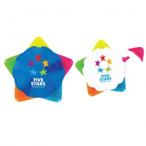 Star Shaped Five Color Highlighter