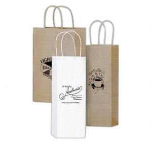 Customized written paper wine bags