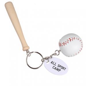 Mini Baseball Bat Keychain
