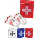 Retro Bandage Reusable  Tin