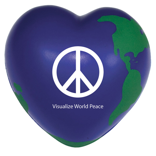 Heart Shaped Earth Stress Reliever