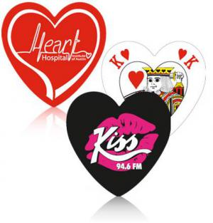 Heart Shaped Playing Card Deck Promotional Gift