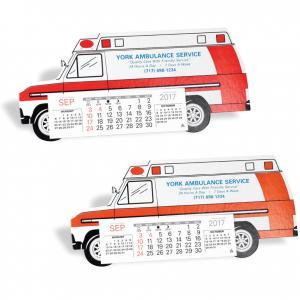 Ambulance Shaped Desk Calendar