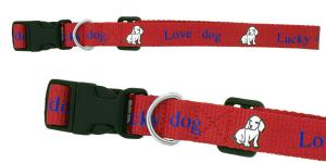 "3/4"" Custom Printed Dog Collar"