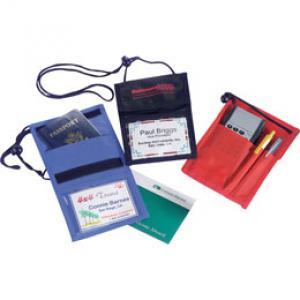 Nylon Neck Wallet