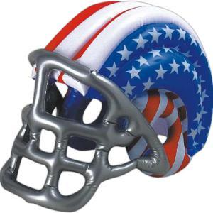 Patriotic Inflatable Football Helmet