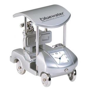 Golf Cart Mini Desk Clock