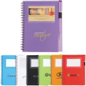 ID Window Notebook w/ Pen