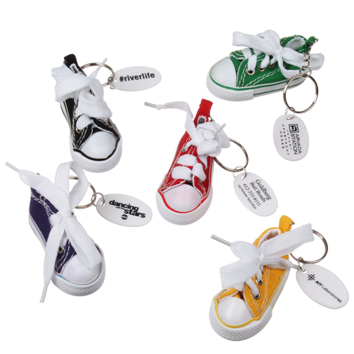 High Top Sneaker Key Chain
