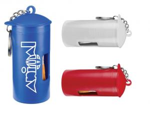 Poop Bag Dispenser w/ Key Ring