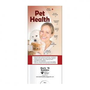 Pet Health Pocket Slide Chart
