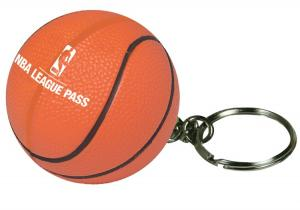 Basketball Key Chain Stress Reliever