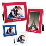 4 Inch by 6 Inch Chrome Accent Photo Frame