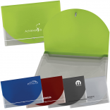Translucent  Document Holder with 3 pockets