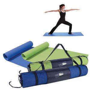 Yoga Mat with Mesh Carrying Case