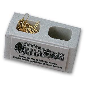Stonecast Cinder Block Paperweight