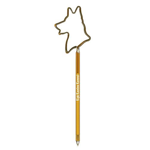 German Shepherd Shaped Pen