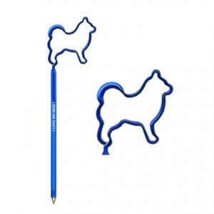 Husky Dog Shaped Pen