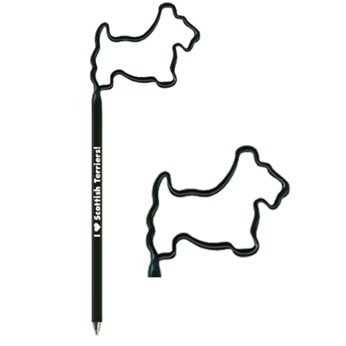 Scottish Terrier Shaped Pen