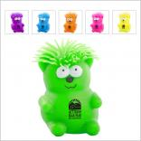 Squeezable Bear with Crazy Hair