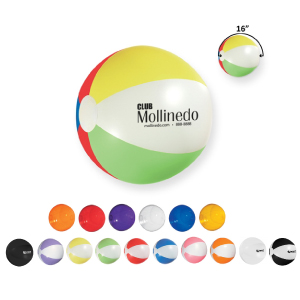 "Identity 16"" Inflatable Beach Ball"