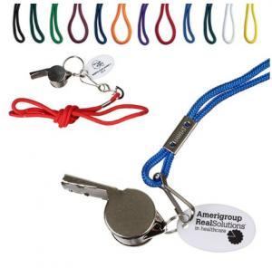 iD Metal Whistle w/ Lanyard