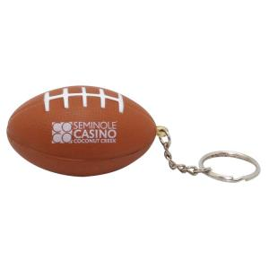 Stress Reliever Football Keychain