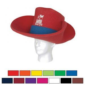 29973f437 Promotional Logo 30 Gallon Cowboy Foam Hats