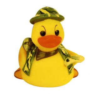 Camouflage Soldier Rubber Duck