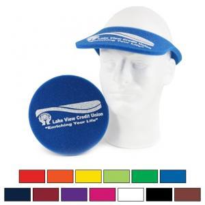 Foam Frisbee Flyer Visor