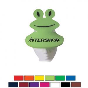 Frog Pop-Up Foam Visor